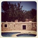 Exterior casa de Ibiza