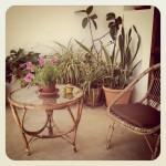 Retro furniture casa de Ibiza